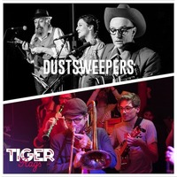 Tiger Rags & Dust Sweepers - double plateau!