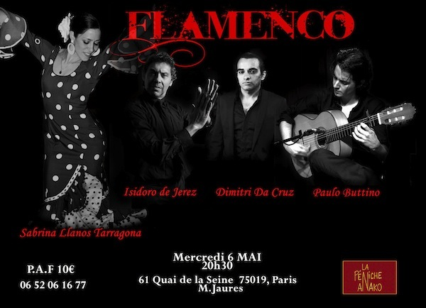 Spectacle de Flamenco : tablado