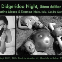 DIDGERIDOO NIGHT 5 : KOSMOZ & AGUSTINA MOSCA