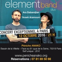 concert exceptionnel : Element Band