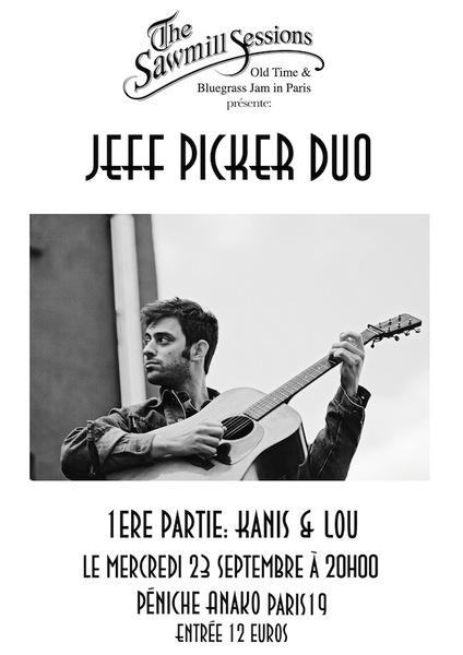 JEFF PICKER DUO, avec guest surprise