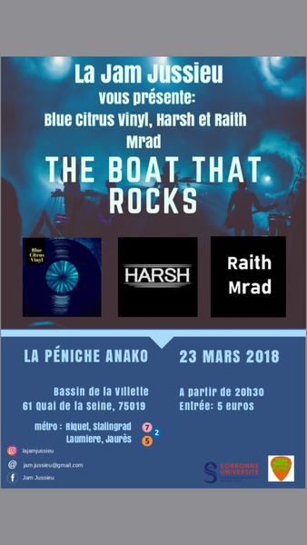 Jam Jussieu : The Boat That Rocks !
