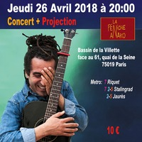 Amar Amarni  concert et projection
